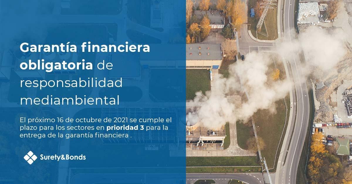 Garantía financiera obligatoria de responsabilidad medioambiental